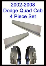 2002-2008 Dodge Ram Quad Cab & Club Cab 4Door Rocker Panels & Cab Corner 4PC Set