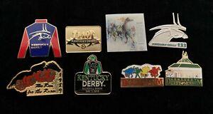 Eight Kentucky Derby Pins Churchill Downs Ky Derby