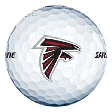 3 Dozen Bridgestone E6 Mint / AAAAA (Atlanta Falcons NFL LOGO) Golf Balls