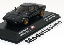 1:43 Minichamps Lancia Stratos 1974 black ltd. 999 pcs. by Auto Hebdo