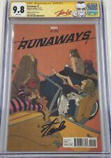 Marvel Runaways #1 Alphona 1:50 Retailer Incentive Signed Stan Lee CGC 9.8 SS