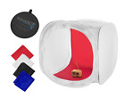 """Foldable 24"""" Classic Photography Light Tent Softbox Cube w/ 4 Backgrounds"""