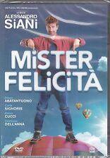 Dvd «MISTER FELICITÀ» con Alessandro Siani Diego Abatantuono nuovo 2016