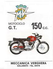 MV Agusta 150 G.T. Originalprospekt brochure depliant