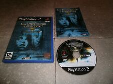 JEU PLAYSTATION PS2 PAL Fr: LES CHEVALIERS DE BAPHOMET LE MANUSCRIT DE VOYNICH