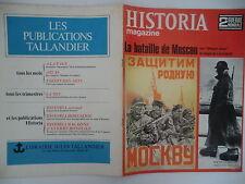 Historia n°30- 1968 - 2ème Guerre Mondiale : La bataille de Moscou