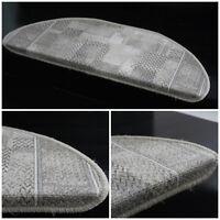 TRIBE  SET OF 15 Stair Step Treads Carpet Mat Non-slip Rugs Anti-skid Home Decor