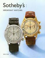 Sotheby's     Important Watches Patek Post Auction Catalog 2007