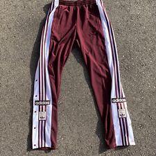NEW Adidas Originals sweatpants Breakaway Pants Trefoil Red White DH5752 Medium