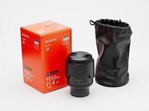 Sony Planar T* 50mm f/1.4 ZA FE Lens SELF14Z