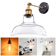 Vintage Industrial Wall-mounted Glass Light Wall Sconce Edison Lamp Restaurant