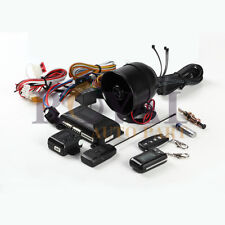 Two Way Micro AutoCar Alarm & Keyless Entry with LCD Remote Control