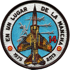 Parche Mirage F1 ALA 14 Ejército Aire Spanish Air Force Military Patch Army