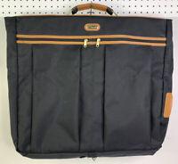 Vintage Samsonite Garment Travel Luggage Suit Business Bag Black Brown