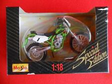 Rare Kawasaki Klx250 by Maisto ~ Special Edition 1:18 Scale Die Cast Motorcycle
