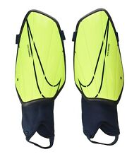 NIKE Charge Soccer Shin Guards Unisex Adult Size XL X-Large / Volt