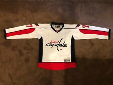 bd5fc3447 REEBOK WASHINGTON CAPITALS OSHIE 77 OFFICAL NHL LICENSED JERSEY MENS SMALL
