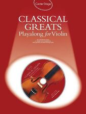 Classical Greats Play-Along Center Stage Series NEW 014006340