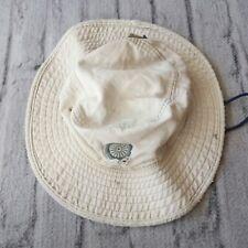 Vintage Patagonia Lotus Designs Logo Bucket Hat Cap Distressed 00s Made in USA
