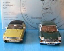 COFFRET AUSTIN CENTENARY SET 1800 MK2 EVERGLADE + ALLEGRO 1300S 1/43 VANGUARDS