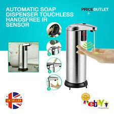 Automatic Soap Dispenser Touchless Handsfree IR Sensor Liquid Hand Wash Bathroom