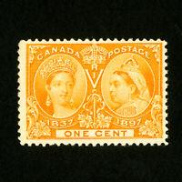 Canada Stamps # 51 F-VF OG NH Catalog Value $75.00