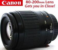CANON EOS EF 80-200mm AF Telephoto Zoom Lens, Auto Focus Rebel~Digital~XLNT Cond