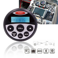 Marine Stereo Bluetooth Radio Receiver Waterproof ATV Car Mp3 Player Yacht Audio