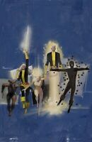 Bill Sienkiewicz SIGNED New Mutants SDCC Exclusive Giclee Paper Limited Ed of 50