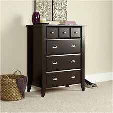 Sauder 409714 Shoal Creek Collection Jamocha Wood 4-drawer Chest