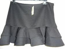 New NWT Miss Selfridge black short mini skirt. Size 14