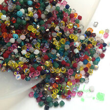 144 Swarovski 5328 / 5301 Crystal Bicone Beads 1 gross 4mm Mix Colors