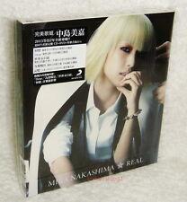 Mika Nakashima REAL 2013 Taiwan Ltd CD+DVD