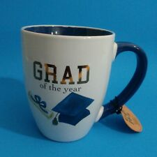 """Grad Of The Year"" Tea Cocoa Beverage Coffee Cup Mug School College Gift 22oz"