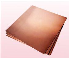 1pc 99.9% Pure Copper Cu Metal Sheet Plate 2 x 100 x 100 mm