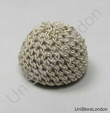Buttons Crochet Button Silver 25mm Uniform Accessories Sold Single R1472