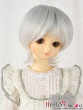 """(50% Off)【NC-M03】7~8"""" Heat-Proof Short Wigs(MSD/AR/VMF50) # Silver White"""