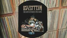 """LED ZEPPELIN - The Song Remains The  Same Rare 12"""" Uncut Picture Disc Promo LP"""