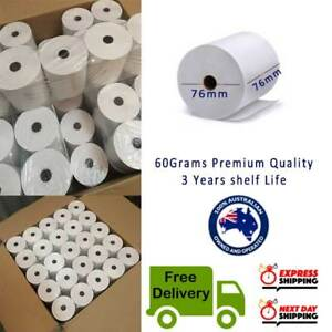 50Rolls 76x76mm 1PLY Bond Paper 1 ply Kitchen Roll Receipt Roll