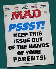 MAD Magazine Number 190. British Edition. 1977.