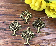 15pcs Tree of Life bronze Bead charms Pendants DIY jewelry 21x15mm J156