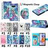 Phone Painted Leather Flip Card Wallet Case Cover For LG K10 2018 K51 Stylo5 V40