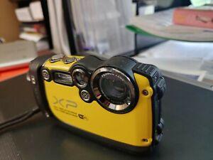 Fujifilm FinePix X Series XP200 16.4MP Digital Camera - yellow
