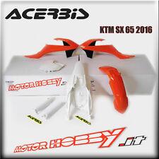 KIT PLASTICHE KTM SX 65 2016 - 2018 FULL KIT ACERBIS  COLORE REPLICA