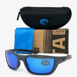 Costa Del Mar WHITETIP Matte Gray / Blue Mirror 580G 58mm Polarized Sunglasses