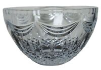 2005 Waterford Cut Crystal Prentiss Bowl Candy Compote Discontinued 10""