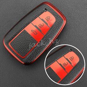 Smart Key Fob Cover Case For Toyota Camry RAV4 Corolla C-HR Highlander Kluger