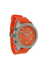 Nixon A038 877 The 42-20 Chrono Men's Marmalade Round Analog Date Silicone Watch