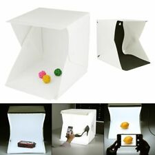 "Mini Photo Studio Light Room 9"" Photography Lighting Tent Kit Backdrop Cube Box"