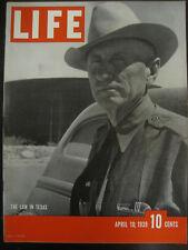 LIFE April 10 1939 1939 Texas, Franco, Pius XII, Daladier, Poland fights Nazis